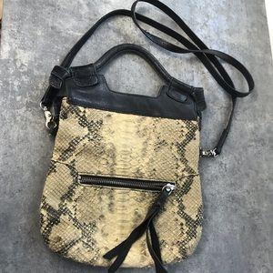 Handbags - Foley+Corinna mini city cross body snake skin flaw